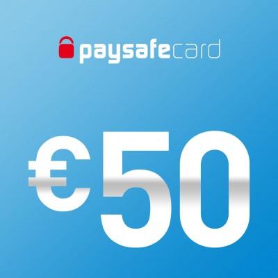 Paysafe 50 euros