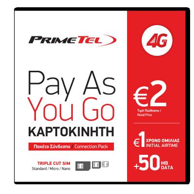 Primetel sim pack 4G