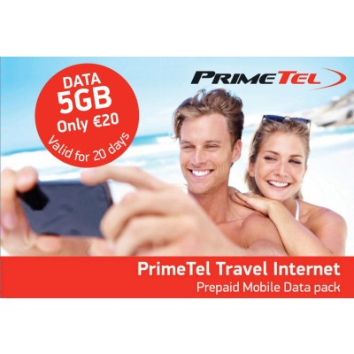Primetel Travel internet