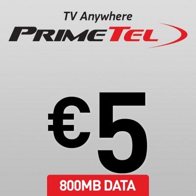 Primetel 5 Data 800MB